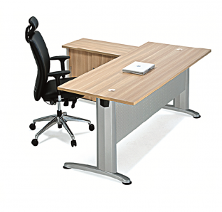 BJS Metal Executive Desk