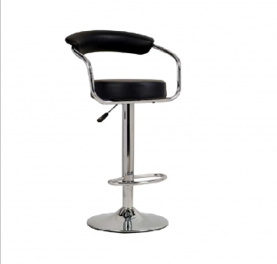 Bar Stool With Half Foot Ring | Blue Crown Furniture