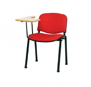 Isoscele Chair  With Writing Pad