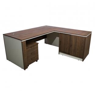 L Shape Executive Desk (ALDER-1818)