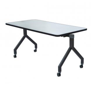 Folding Table In Metal Leg | Blue Crown Furniture