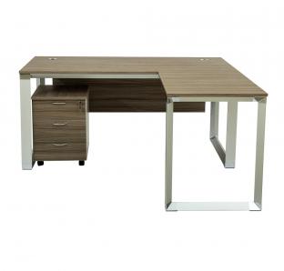 L Shape Executive Desk | Blue Crown Furniture